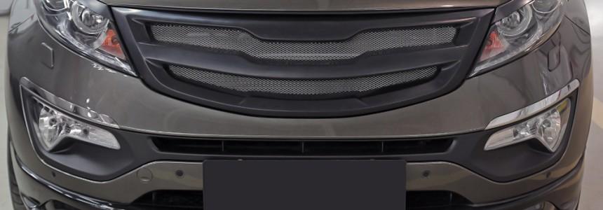 Внешний тюнинг. Решетка радиатора Kia Sportage