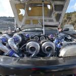 Четыре турбины в одном Nissan Silvia