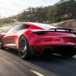 Новый электрокар Tesla Roadster
